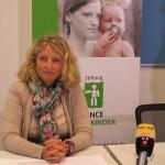 Stefanie Glaubitz berichtet von ihrer Arbeit als Familienhebamme